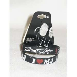 Michael Jackson Beat It Bracelet Set