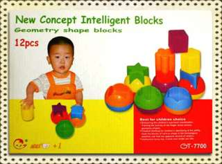 Baby Children Developmental Geometry Blocks Toy Special DISCOUNT SALE