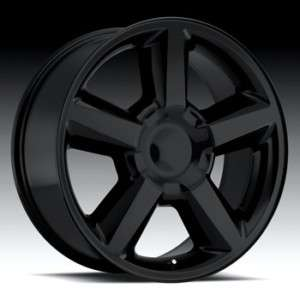 NEW 22x10 Chevrolet LTZ Wheels Matte Black OE Tahoe