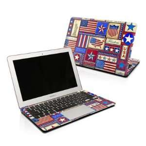 Flag Patchwork Design Skin Decal Sticker for Apple MacBook