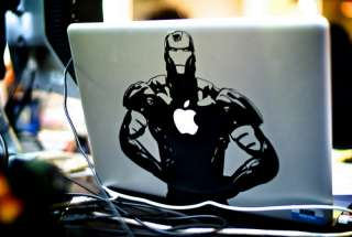 IRON MAN Laptop Cover Case Macbook Air Decal Skin Stickers 13 15
