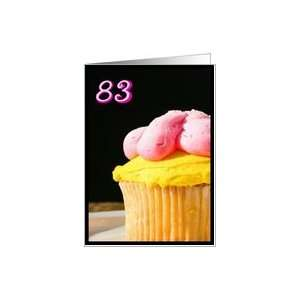 Happy 83rd Birthday Muffin Card Toys & Games