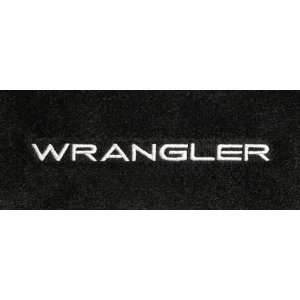 Logo 2007 2011 Jeep Wrangler Unlimited Luxury 2 Pc Front Mats Luxury