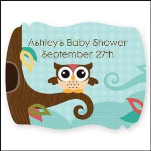 Owl   Look Whooos Having A Baby   16 Squiggle Personalized Baby