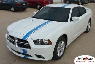Dodge Charger E RALLY Racing Stripes Spoiler Decals Pro 3M Graphics 45