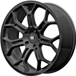 Motegi MR120 20x9 Black Wheel / Rim 5x120 with a 38mm Offset and a 74