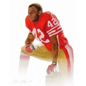 Ronnie Lott San Francisco 49ers Small Giclee Sports