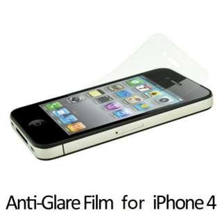 10 X MATTE Anti Glare Screen Protector for iPhone 4 4G