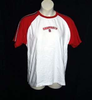 ST LOUIS CARDINALS MENS SSLV COTTON TEE SHIRT SZ LG