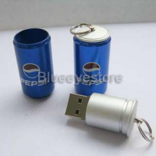 metal pepsi USB 2.0 Flash Memory Pen Drive stick 4GB