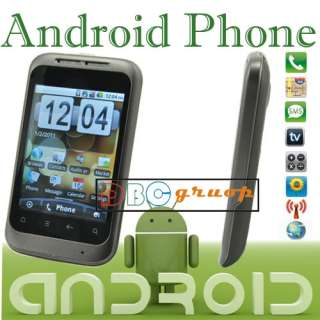 Unlocked Dual Sim Android 2.2 Smart Phone Touch Screen A GPS WIFI TV