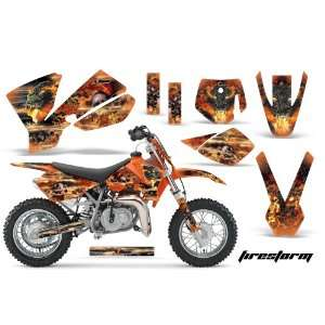 Amr Racing KTM Sx 50 Mx Dirt Bike Graphic Kit   2002 2008