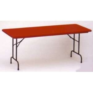 Blow Molded Plastic Folding Table 30 x 60   Commercial Grade Tables