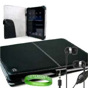 Accessories Kit Includes ?Black Melrose iPad Leather Cover + iPad