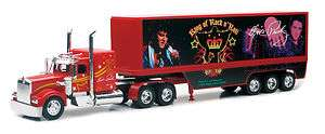 KENWORTH W900 ELVIS PRESLEY SEMI TRUCK DIECAST 1/32 KING OF ROCK N