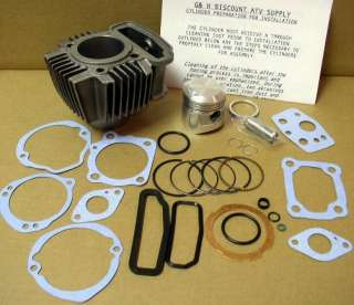 1979 85 Honda Atc 110 Engine Motor Top End Rebuild Kit