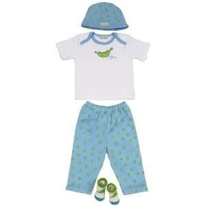 Elegant Baby Sweet Pea 100% Cotton Fashion Set Baby
