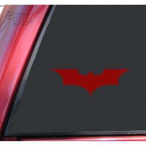 Batman Begins / The Dark Knight Vinyl Decal Sticker   Dark Red