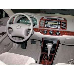 TOYOTA CAMRY 2002 2003 2004 INTERIOR WOOD DASH TRIM KIT SET