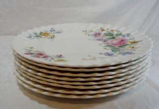 Royal Doulton Arcadia H4802 Set of 8 Dinner Plates