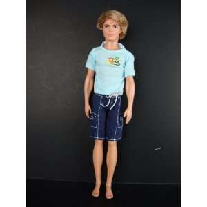 Shorts and Light Blue T shirt Made to Fit the Ken Doll Toys & Games