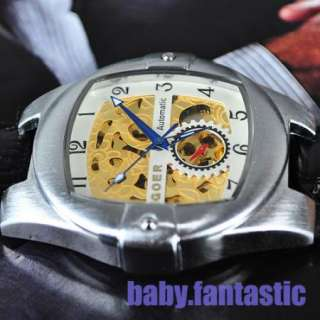 CHRO Mens Automatic Mechanical Watch UK BIG Mens Size Xmas Gift