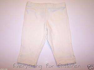 Girls KELLYS KIDS leggings 12 18 NEW ivory capri skirt
