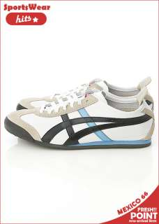 Asics Onitsuka Tiger Mexico 66 White/Pirate Black Shoes