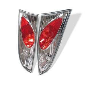 00 04 Ford Focus 3Dr Chrome Tail Lights Automotive
