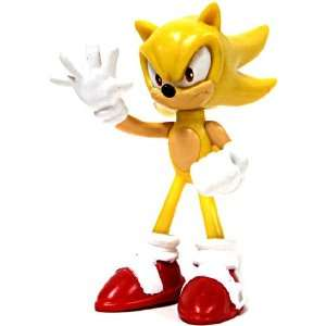 the Hedgehog 2.5 Inch Buildable Mini Figure Super Sonic Toys & Games