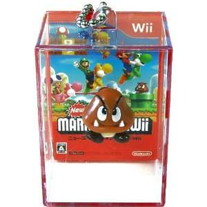 Super Mario Brothers Mario WII Mini Figure Keychain