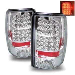 Tahoe 1500/2500 Chrome Tail Lights (Lift Gate Style Only) Automotive
