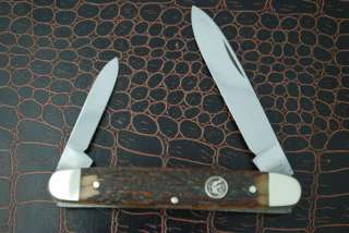HEN & ROOSTER STAG COFFIN STYLE KNIFE SOLINGEN GERMANY