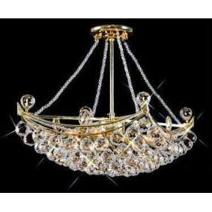 9800D24C Elegant Lighting Corona Collection lighting