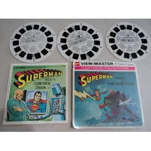 1970 View Master Superman Meets Computer Crook
