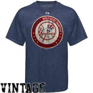 Majestic New York Yankees Navy Blue Cooperstown Training Up Heathered