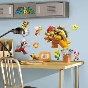 Super Mario Wall Decals In RoomMates
