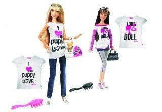 mattel mattel talk to me tees summer toys games barbie tees and dolls
