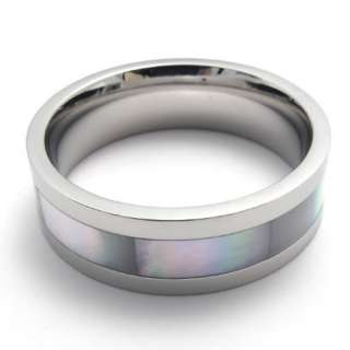 Mens Silver Stainless Steel Ring US Size 11 US12001411R1