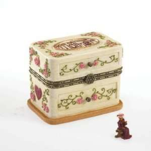 Boyds Mothers Day Treasure Box with Hattie Bloominlove