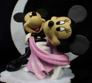 Mickey & Minnie Mouse Wedding Cake Topper Dance DISNEY