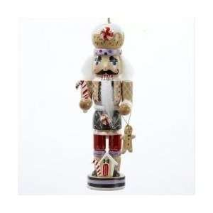 5 Gingerbread Kisses Wooden Nutcracker Christmas Ornament