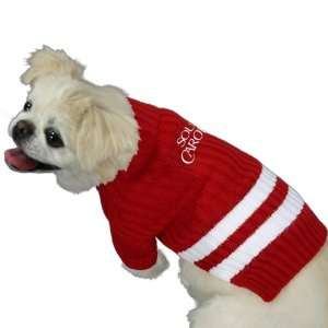 South Carolina Gamecocks Cardinal Dog Sweater Sports