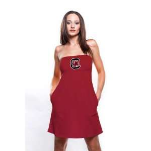 South Carolina Gamecocks Womens Cardinal Tube Dress with