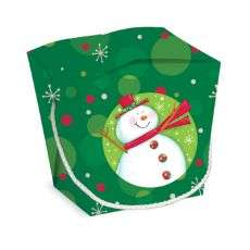 Polka Dot Holiday Themed Half Pint Pail Party Favor Gift Box