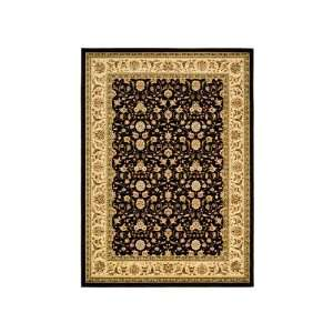 Safavieh Lyndhurst Collection LNH316B Black and Ivory Area