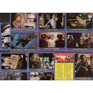 The Black Hole Movie Complete Trading Card Set by 1979