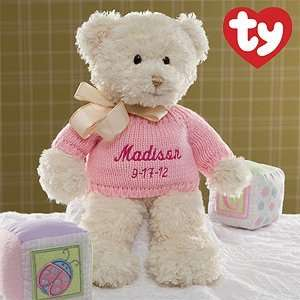 Personalized Baby Girl Teddy Bears Toys & Games