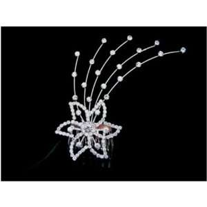 Bridal Wedding Prom Crystal Rhinestone Hair Comb 04