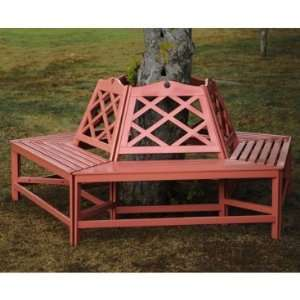 Achla Design Chippendale Tree Bench Patio, Lawn & Garden